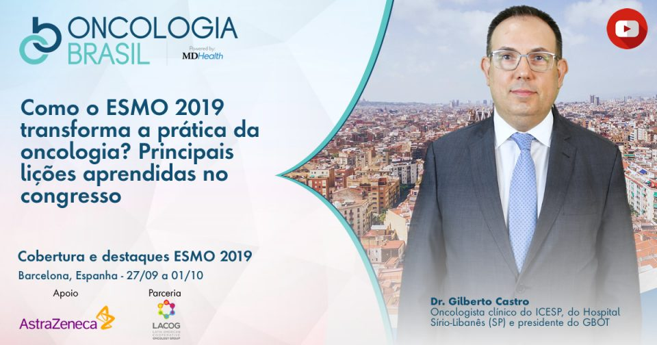 Os Destaques em Oncologia Torácica no ESMO 2019